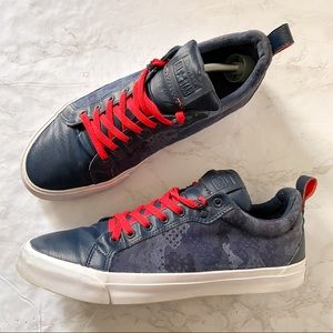 Converse All Star Canvas and Leather Sneakers